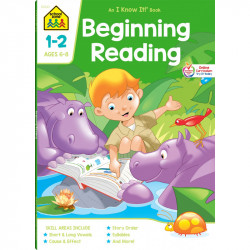 School Zone Beginning Reading 1-2, 64 pages
