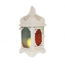 Ramadan Big Fanous Decoration Piece, White