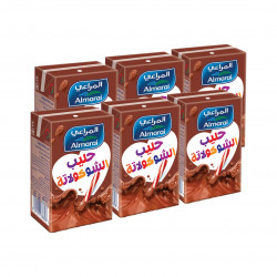 المراعي نجوم حليب بنكهة شوكولاتة * 6 ، 150 مل